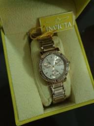 Relógio Invicta Feminino Quartzo de Anjo