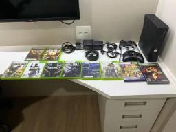 Xbox 360 Bloqueado + 10 jogos originais