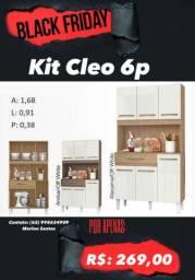 Kit Cleo 6p Promoção