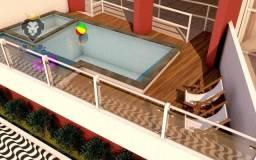 Apartamento Oportunidade com 2 dormitórios à venda, 66 m² por R$ 220.000 - Aviação - Praia