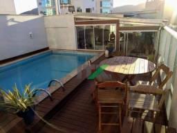 Cobertura com 4 dormitórios para alugar, 210 m² por R$ 3.000,00/dia - Pioneiros - Balneári