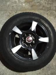 Somente essa semana - Rodas (aro 13) com pneus usados