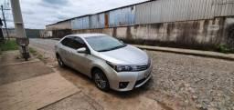 Corolla XEI 2.0 prata Toyota 2016 automático apenas 86.000 KM