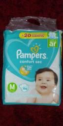 Fralda descartável Pampers confort sec