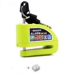 Trava Disco Moto Alarme Sensor Movimento