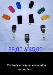 Controles para motor de portao