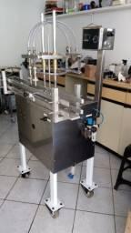 Envasadora semi automatica de liquidos e semi viscosos