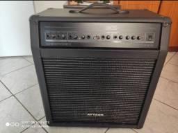 Caixa de som amplificadora ATTACK CM 1290 profissional com entrada para guitarra