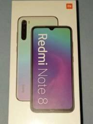 """Smartphone Xiaomi Redmi Note 8 LACRADO Azul 128GB, Tela de 6.3"""", 4GB de RAM"""
