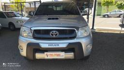 Toyota/Hilux CD SRV 4x4 2011 Prata Completa