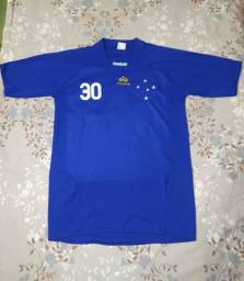 Camisa Reebok Cruzeiro Básica Azul