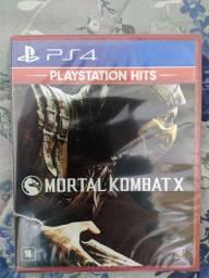Jogo Mortal Kombat X PS4 Lacrado Novo