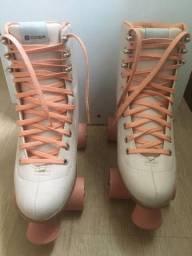 patins oxer rosa (novo) PROMOÇÃO DE: R$ 300 por R$ 200