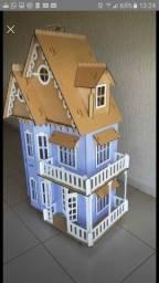 Casa da Barbie em MDF