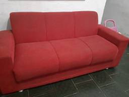 Sofa de treis lugares bem conservado