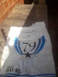 Vendo saco de fibra