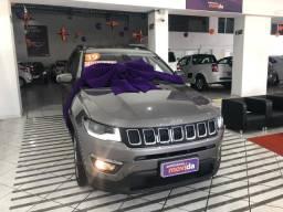 Jeep compass longitude 2019 - 100% no cartão de crédito em 10x + garantia de fabrica