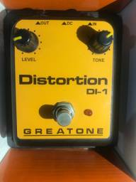 Pedal de distorção Guitarra Greatone DI-1