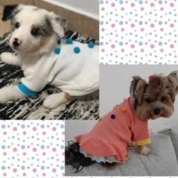 Roupinhas de cachorro(pet) exclusivas feitas personalizadas