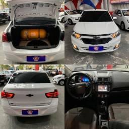 2017 com Kit Gás Chevrolet Cobalt LTZ 1.8 Completo Grande Oportunidade