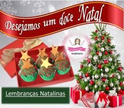 KIt de Natal Caixa de doces - Lembrança Natalina