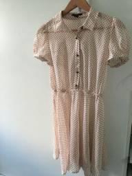 Vestido poá bolinhas Forever 21