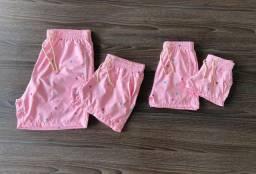Shorts Moda praia-2021 feminino e masculino