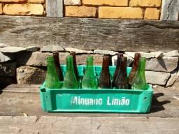 Engradado antigo Minuano Limão