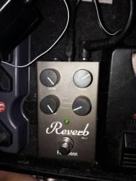 Pedal, guitarra,  violão,  BAIXO,  Furhman RV1  480