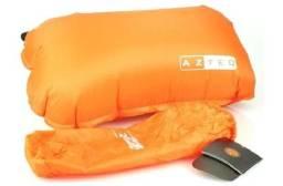 Travesseiro auto inflável Azteq Looper com controle manual (válvula) de densidade