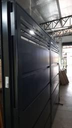 Portão Fortaleza de abrir 3.03x2.17x14m, ENTREGA EM 1 DIA