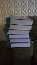 Livros escolares 3° ano ensino médio (Pré-vestibular) - todas as matérias (novos)!