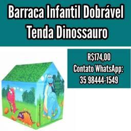 Barraca Infantil Dobrável Tenda dinossauro