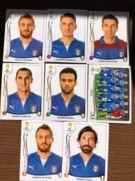 Figurinha Itália copa 2014