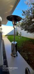 Locação de aquecedor chapéu para secagem uso construção civil em Curitiba