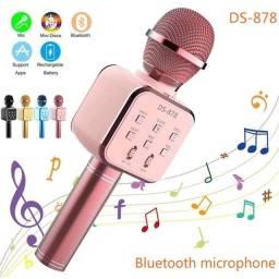 Microfone Bluetooth Sem Fio Para Youtuber Reporter Karaoke - 8303