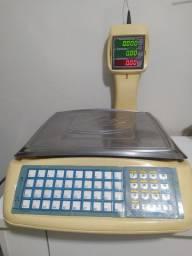 Balança Urano US15kg/5g c/ coluna: Usada, toda revisada e com garantia