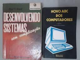 Livros de informática excelente exemplares para estudos