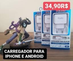 Carregador para Iphone e Android