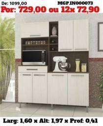 Título do anúncio: Armario de Cozinha- Kit de Cozinha Grande - Armario de Cozinha 1,60 de Larg- Embalado