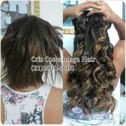 Mega Hair Profissional Acabamento Perfeito