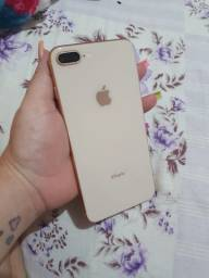 iPhone 8 Plus Gold com nota fiscal troco em S20+