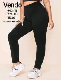 Calça legging tamanho 4G
