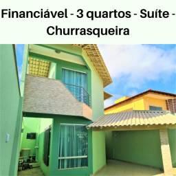 Casa duplex sol da manhã em Guriri Norte, São Mateus!
