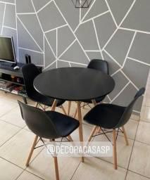 Título do anúncio: Jogo Eiffel com 4 cadeiras