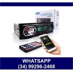 Som Automotivo Bluetooth Pendrive Cartão de Memória * Fazemos Entregas