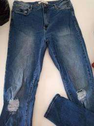 3 calças jeans 42 NOVAS