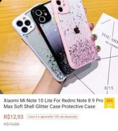Título do anúncio: Capinha Xiaomi Mi 10 lite