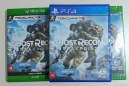 Título do anúncio: Jogo Ghost Recon Breakpoint Xbox & PS4 Novo Lacrado