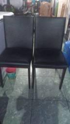 Jogo de 6 cadeiras em Courino